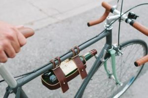 Gifts for Cyclists - Bicycle Wine Carrier