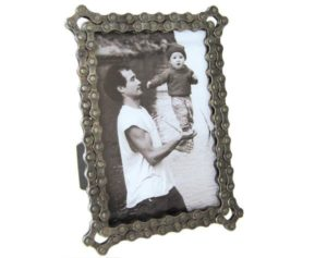 Gifts for Cyclists - Bike Chain Picture Frame