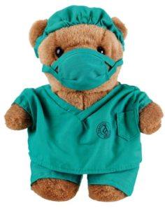 Gifts for Doctors - Dr. Scrubs Teddy Bear