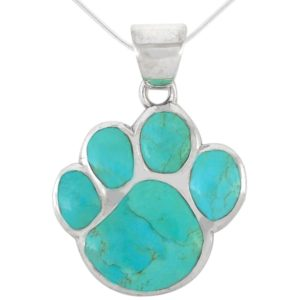 Gifts for Dog Lovers - Dog Paw Pendant Necklace