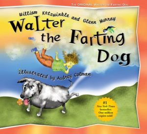 Gifts for Dog Lovers - Walter the Farting Dog book