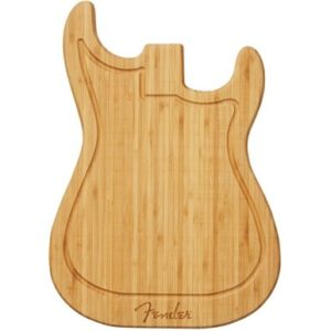 Gifts for Guitar Lovers - Fender Stratocaster Cutting Board