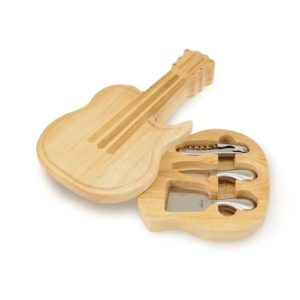 Gifts for Guitar Lovers - Guitar Cheese Board