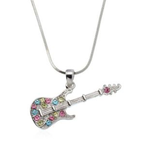 Gifts for Guitar Players - Guitar Pendant Necklace