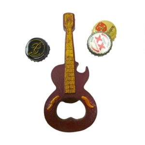Gifts for Guitar Players - Guitar-Shaped Bottle Opener