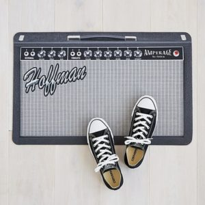 Gifts for Guitar Players - Personalized Amp Doormat