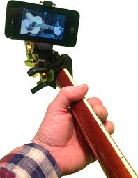 Gifts for Guitar Players - Smartphone Capo