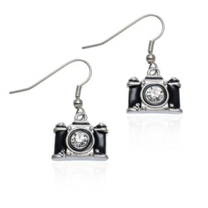 Gifts for Photographers - Miniature camera earrings