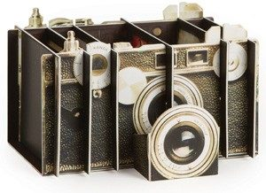 Gifts for Photographers - Vintage Camera Desk Organizer
