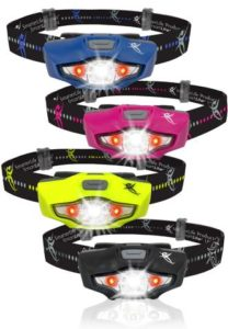Gifts for Runners - SmarterLife Running Headlamp
