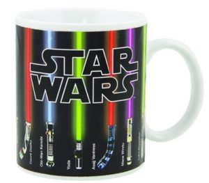 Gifts for Star Wars Fans - Heat-Activated Lightsaber Coffee Mug