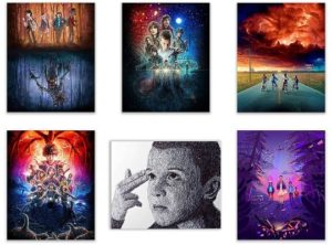 Gifts for Stranger Things Fans - Stranger Things Poster Print Set