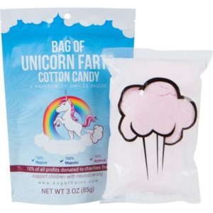 Gifts for Unicorn Lovers - Bag of Unicorn Farts