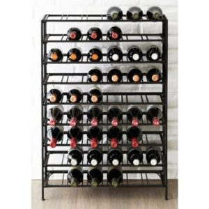 Gifts for Wine Enthusiasts - 54-Bottle Connoisseurs Deluxe Wine Rack