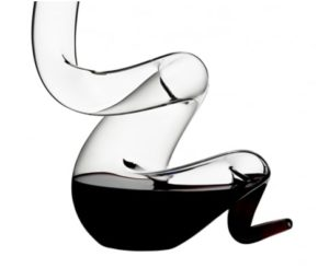 Gifts for Wine Enthusiasts - Riedel Crystal Boa Decanter