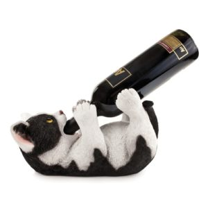 Gifts for Wine Lovers - Klutzy Kitty Wine Bottle Holder