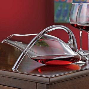 Gifts for Wine Lovers - Wine Enthusiast Break-Resistant Fusion Duck Decanter