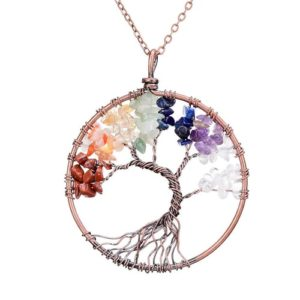 Gifts for Yoga Lovers - Tree of Life Pendant Necklace