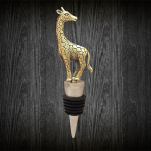 Giraffe Gift Ideas - Giraffe Wine Bottle Stopper