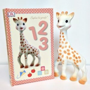 Giraffe Gifts - Sophie the Giraffe Teether & Book Gift Set