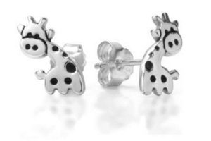Giraffe Gifts for Her - Giraffe Earrings