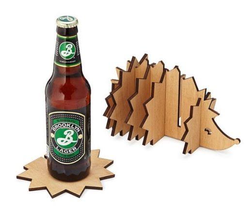 Hedgehog Gifts - Hedgehog Coaster Caddy