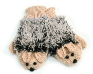 Hedgehog Gifts - Hedgehog Mittens