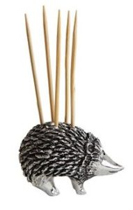 Hedgehog Gifts - Hedgehog Toothpick Holder