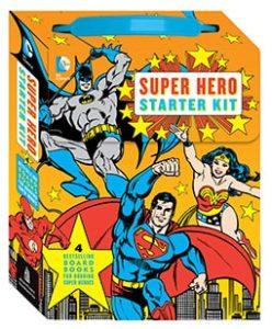 Justice League Gifts - DC Superhero Starter Kit Book Set
