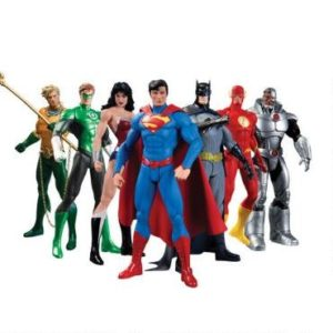 Justice League Gifts - Justice League 7-Pack Action Figure Box Set