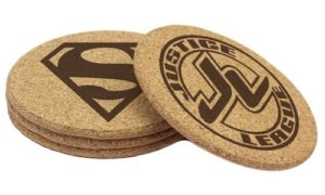Justice League Gifts - Justice League Drink Coasters