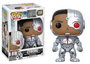 Justice League Gifts - Justice League Funko POP! Figures - Cyborg