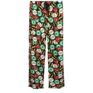 Justice League Gifts - Justice League Symbols Pajama Pants