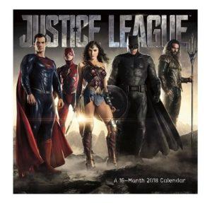 Justice League Merchandise - Justice League 2018 Calendar