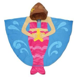 Mermaid Gifts - Kids' Mermaid Rain Poncho