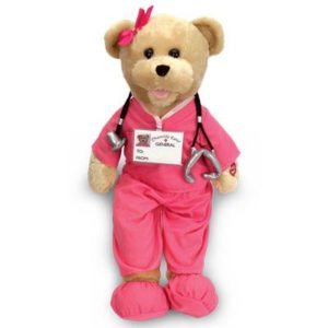 Nurse Gifts - Singing Nurse Teddy Bear