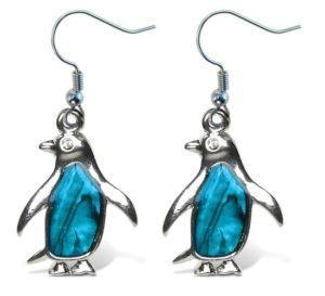 Penguin Gifts for Her - Penguin Earrings