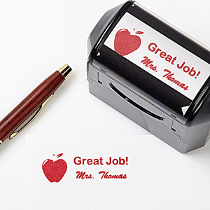 Teacher Gift Ideas - Personalized Self-Inking Stamp