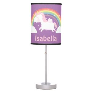 Unicorn Gifts - Personalized Unicorn Table Lamp