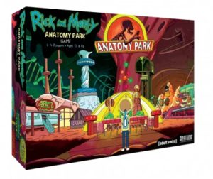 Rick and Morty Gifts - Anatomy Park Game