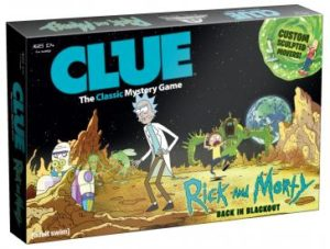 Rick and Morty Gifts - Clue: Rick and Morty Edition
