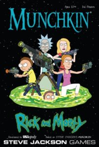 Rick and Morty Gifts - Munchkin: Rick and Morty Edition