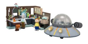 Rick and Morty Gifts - Rick and Morty Construction Set Toys