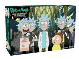 Rick and Morty Gifts - Rick and Morty Deck-Building Game: Close Rick-Counters of the Rick Kind