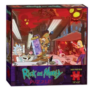 Rick and Morty Gifts - Rick and Morty Jigsaw Puzzle