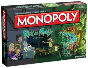 Rick and Morty Gifts - Rick and Morty Monopoly
