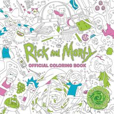 Rick and Morty Gifts - Rick and Morty Official Coloring Book