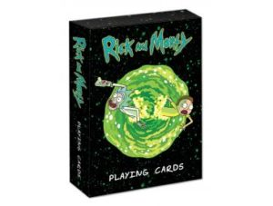 Rick and Morty Gifts - Rick and Morty Playing Cards