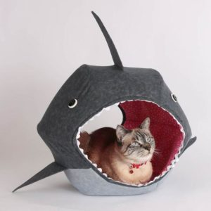 Shark Gifts - Shark Cat Bed