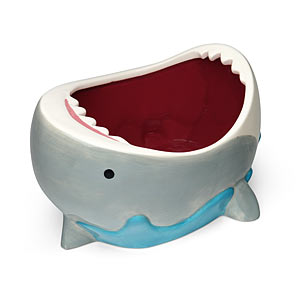 Shark-Themed Gifts - Shark Attack Bowl
